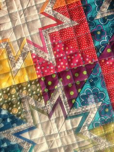 Quilt Love the colors