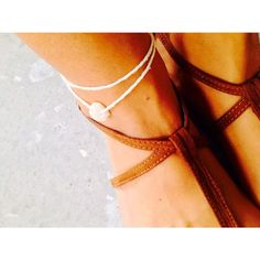 make a wish shell anklet
