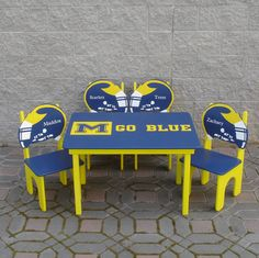 Childrens Team Table by GreatCustomFurniture