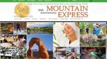 Park City Utah Website Design for Mountain Express Magazine