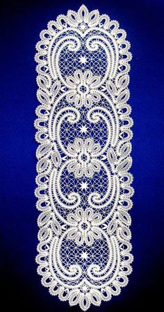 Picot Crochet, Knit Or Crochet, Irish Crochet, Crochet Doilies, Antique Lace, Vintage Lace, Bruges Lace, Bordados E Cia, Romanian Lace