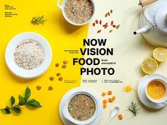 谷物Grain on Behance Food Graphic Design, Food Poster Design, Food Menu Design, Food Advertising, Advertising Design, Menu Restaurant, Banner Instagram, Dm Poster, Posters