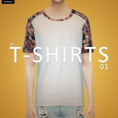 My Sims 4 Blog: T-Shirts for Males by YoungZoey