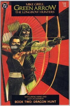 Green Arrow The Longbow Hunters Book Two Dragon Hunt DC GN Comic Book