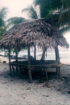 Bus stop or Rest Stop along the road.  Upolu, Samoa.  Beautiful country, beautiful people.  #samoa #traveltoparadise   travelzworld@yahoo.com