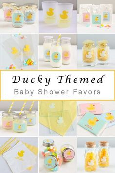 For your baby boy or girl shower find the perfect baby ducky party favors Baby Shower Vintage, Baby Shower Fall, Baby Shower Parties, Baby Shower Themes, Baby Boy Shower, Shower Ideas, Ducky Baby Showers, Rubber Ducky Baby Shower, Personalized Baby Shower Favors