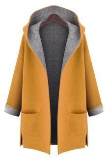 Shawl Neck Gray Wool Coat GRAY: Jackets & Coats | ZAFUL