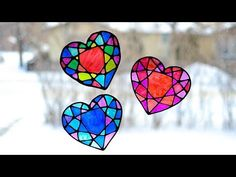 Stained Glass Heart Suncatcher - Adventure in a Box
