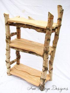 "birch shelf- Sylvantutch ""putting the wood back into furniture'"