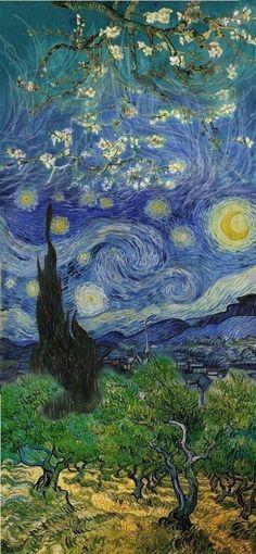 Sanat Van Gogh Wallpaper, Monet Wallpaper, Arte Legal, Love Art, Van Gogh Flowers, Vincent Van Gogh, Van Gogh Paintings, Van Gogh Drawings, Van Gogh Tattoo