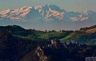 Twitter / turismoER: [Gli amici di tER fotografgano] La Rocca d'Olgisio e il Monte Rosa sullo sfondo pinned with Pinvolve