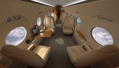 Gulfstream G550-Interior.