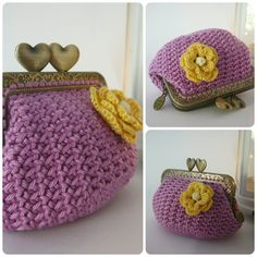 Model nº 2 ♥♥♥♥♥♥♥♥♥♥♥♥♥♥♥♥♥♥♥♥♥♥ PATTERN crochet coin purse. ♥♥♥♥♥♥♥♥♥♥♥♥♥♥♥♥♥♥♥♥♥♥ This is a PDF PATTERN and instructions for making your