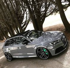 This Nardo Grey Audi is Spec'ed Just Perfectly! - My Rides - Car Rs6 Audi, Allroad Audi, Audi A3 Sportback, Audi Rs 3, Audi Sport, Sport Cars, Audi Wagon, Nardo Grey, Best Luxury Cars