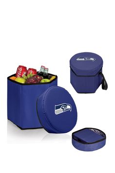 An on the go cooler that is great for the park, the beach, concerts, or road trips!