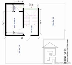 400 sq yard house plans ground floor Villas Pinterest