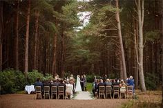 A bride wearing a Watters Wtoo wedding dress for her beautiful wedding in the woods, surrounded by the natural beauty of Scotland. Woodland Wedding Venues, Forest Wedding Venue, Unusual Wedding Venues, Enchanted Forest Wedding, Wedding Venues Beach, Tipi Wedding, Wedding In The Woods, Unique Weddings, Wedding Ideas