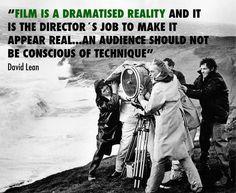 David Lean - Film Director #quoteoftheday #filmdirector #cinema #film #quote #filmmaker #inspiration #cinematography #cinematographer #nofilmschool #silkroad #silkroadfilmfestival #davidlean #drzhivago #ryansdaughter #lawrenceofarabia