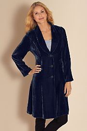 gamesinfomation.com Silk Velvet Duster – Purple coupon| gamesinfomation.com