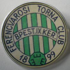 Hungarian Football Budapest Ferencvarosi Torna Club Ferecvaros Fradi Pin Badge Hungary, Budapest, Football, Futbol, American Football, Soccer Ball, Soccer
