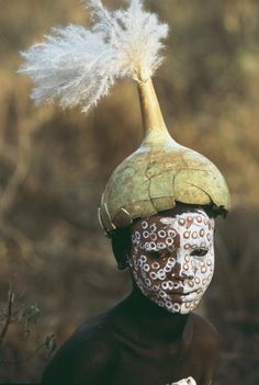 Natural Fashion from Ethiopia's Omo Valley |Photographs by Hans Silvester