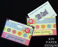 Kts paper designs fold open easter gift card holders jantay kts paper designs easter gift card holders negle Images