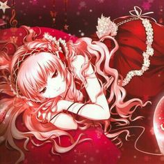Megurine Luka Cartoon Wallpaper, Wallpaper Backgrounds, Anime Japan, Everything Pink, Background Images, Anime Art, Victorian, Fantasy, Manga