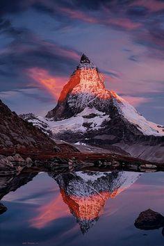 Jamie Hageman - The Matterhorn Landscape Photography, Nature Photography, Mountain Paintings, Photography Awards, Art For Art Sake, Fantasy Landscape, Mountain Landscape, Nature Pictures, Beautiful Landscapes