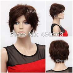 Light Brown Wig for Women 12 inch Straight Wig Cheap Good Quality Wig Good Quality Wigs, Curly Font, Hot Haircuts, Hair Lengths, Hair Inspiration, Short Hair Styles, Hair Cuts, Pretty, Hairstyles