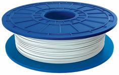 Dremel - 1.75mm PLA Filament - Cotton White, 26153D01AA