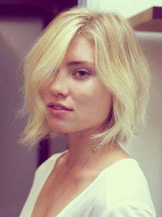 Short Blonde Hair Cuts 2013   2013 Short Haircut for Women