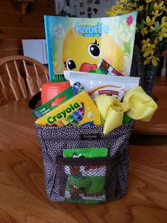 Easter Basket using Thirty One Littles Carry-All Caddy