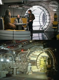 Before and after on the Falcon - WTF did he do with the Falcon to make it turn from that to THAT