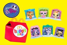 2015 Littlest Pet Shop McDonalds Happy Meal collectibles. 6 in all and we've collected all 6! We're opening them and putting each one together to show you guys just how adorable these LPS cuties are!! Check out our youtube channel for other cool videos: www.youtube.com/toyboxmagic  https://youtu.be/TVaL31Je5gM