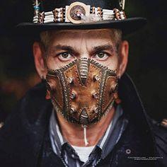 Mode Steampunk, Steampunk Mask, Steampunk Costume, Gothic Steampunk, Steampunk Clothing, Victorian Gothic, Steampunk Fashion, Gothic Lolita, Biker Mask