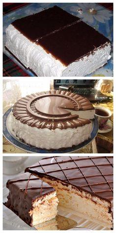 Easy Cake Decorating World's Best Food Good Food Creative Cakes Creative Food No Bake Cake Great Recipes Jello Tiramisu Russian Cakes, Russian Desserts, Pastry Recipes, Baking Recipes, Cake Recipes, Creative Cakes, Creative Food, Fridge Cake, Delicious Desserts