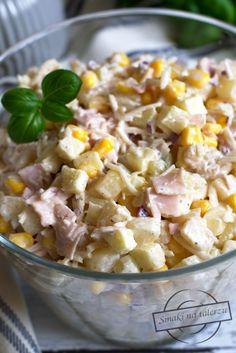 Pin on Przepisy Calzone, Coleslaw, Hawaiian Pizza, Potato Salad, Treats, Vegetables, Cooking, Ethnic Recipes, Food