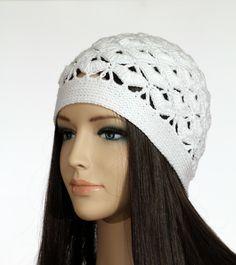 Winter Cap PDF, Women's Crochet Hat Tutorial, Instant Pattern Downloads by etty2504 on Etsy https://www.etsy.com/listing/230576485/winter-cap-pdf-womens-crochet-hat
