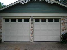 Haas Model 680 Raised Panel Steel Insulated Garage Doors