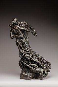 Camille Claudel (1864-1943), La Valse, 1889-1905, épreuve en bronze à patine brun-noir, fonte au sable réalisée du vivant de l'artiste, vers 1900, h. 46,7, l. 25,5, pr. 16,8 cm. Estimation : 500 000/800 000 € Château d'Artigny (Montbazon), dimanche 11 juin. Rouillac OVV. Cabinet Sculpture et Collection.