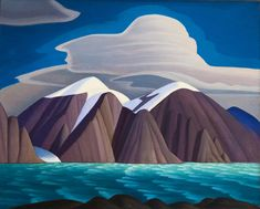 Lawren Harris was a Canadian painter widely recognized for his stark, and sometimes abstract, landscapes of northern Canada and the Arctic Circle. He was a founding member of the Group of Seven, a. Group Of Seven Artists, Group Of Seven Paintings, Canadian Painters, Canadian Artists, Lauren Harris, Art Gallery Of Ontario, Digital Museum, Collaborative Art, Famous Art