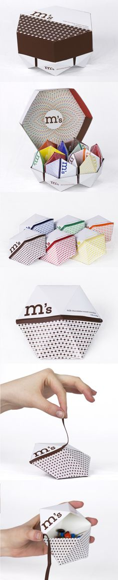 M&M's packaging redesign. Repinned by www.strobl-kriegner.com #branding #packaging #design #creative #marketing