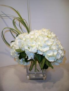 hydrangea arrangements | heavenly hydrangeas heavenly hydrangeas a gorgeous simple arrangement ...