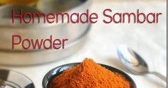 Sambar powder recipe, Homemade Sambar Powder recipe in Tamil nadu style, How to make sambar powder at home, sambar podi, Sambar masala powder, South Indian sambar powder, Tirunelveli sambar powder, Sambar powder in small quantity. Recipes In Tamil, Indian Food Recipes, Powder Recipe, Plastic Spoons, Spice Mixes, Sun Dried, Spices, Homemade, Dishes