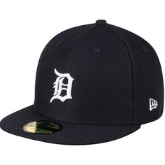 Detroit Tigers New Era Women's Authentic Collection On-Field 59FIFTY Fitted Hat - Navy