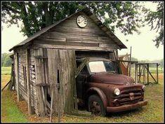Old truck/barn