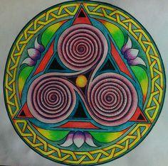 Madlookin celtic mandala
