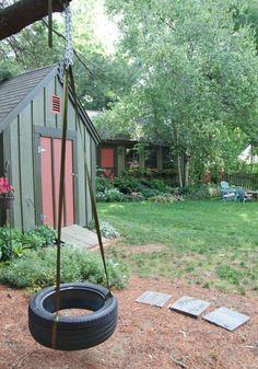 schaukel selber bauen garden pinterest selber bauen spielger te und spielpl tze. Black Bedroom Furniture Sets. Home Design Ideas