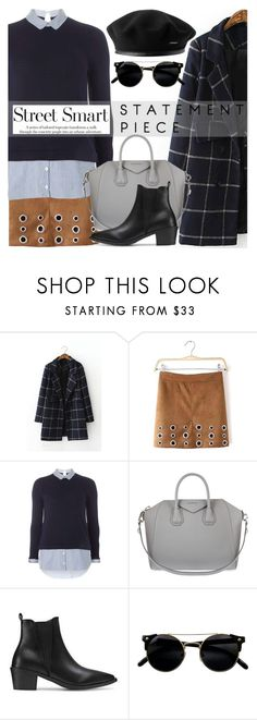 """""""Street Smart"""" by ivansyd ❤ liked on Polyvore featuring Dorothy Perkins and Givenchy"""
