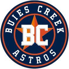 Buies Creek Astros, (Buies Creek, North Carolina), Stadium: Jim Perry Stadium #BuiesCreekAstros #BuiesCreekNorthCarolina #CarolinaLeague (L16435)
